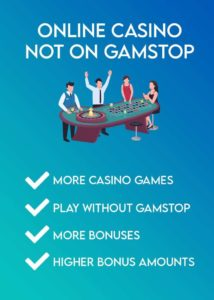 CASINO NOT ON GAMSTOP MALTA LICENCE = NO TAX CURACAO LICENCE = NOT TAX FREE MORE CASINO GAMES IS NOT ILLEGAL WITHOUT GAMSTOP SELF-EXCLUSION BETTER BONUS OFFERS AND MORE BONUSES OVERALL 2021 TOPLIST